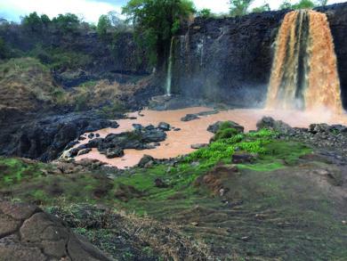 les chutes du Nil Bleu 3