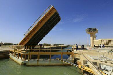 Senegal Saint Louis Barrage de Diama