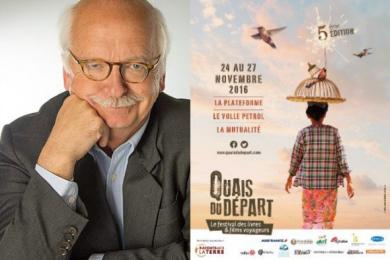 Soirée autour d'Erik Orsenna lors du festival Quais du Départ, livres, films et voyage