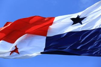 Panama, Panama City, drapeau du Panama