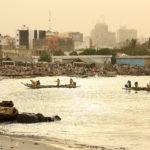 Senegal, Dakar, la plage de Soumbedioune sur la Corniche Ouest