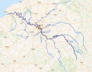 Carte de la_Seine
