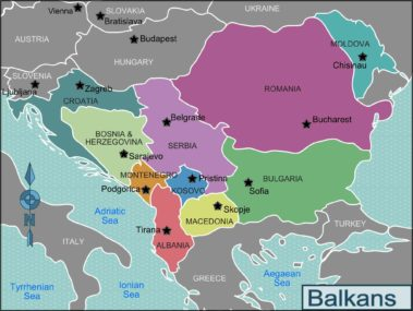Carte Balkans