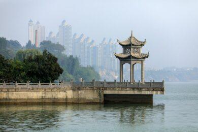 Chine, Province du Henan, Luoyang, Fleuve Jaune
